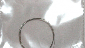 Flexible Wire 0.15mm diameter x 1m (Silver) - MSM Creation
