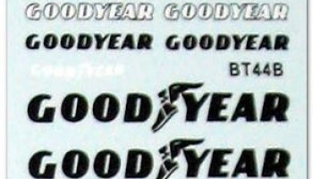 Brabham BT44B Goodyear Decal 1/12 - MSM Creation