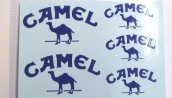Williams FW14B Supplementary decal (Camel) 1/12 - MSM Creation
