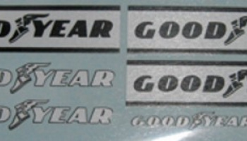 Goodyear decal for Tamiya Ferrari 312T 1/12 - MSM Creation