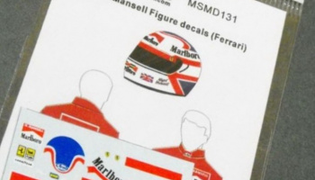 N.Mansell Figure decal (Ferrari) 1/20 - MSM Creation