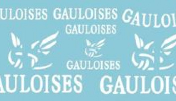 Gauloises Decal for 2005 Yamaha M1 1/12 - MSM Creation