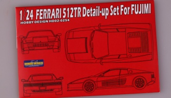 1/24 Ferrari 512TR Detail-up Set - Hobby design