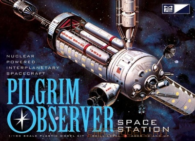 NASA Pilgrim Observer Space Station - MPC
