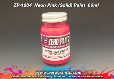 Neon Solid Pink - Zero Paints