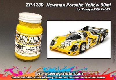 Newman Porsche Yellow (60ml) - Zero Paints