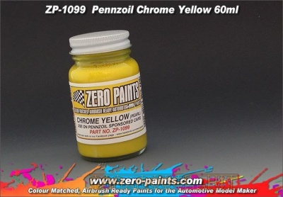 Nissan GT-R - Pennzoil Chrome Yellow - Zero Paints