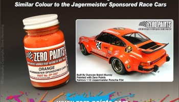 Jagermeister Orange - Zero Paints