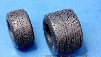 F1 Rain Tire 1980s 1/20 - Model Factory Hiro