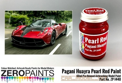 Pagani Huayra Pearl Red Paint 60ml - Zero Paints