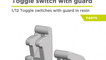 Toggle switch with guard 1/12 - Decalcas