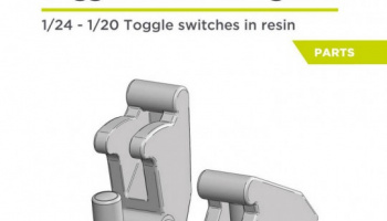 Toggle switch with guard 1/24 - Decalcas
