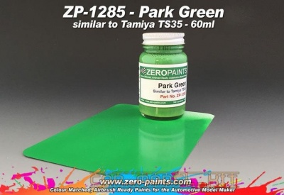 Park Green (Similar to Tamiya TS35) - Zero Paints