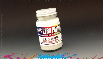 Pearl White - Zero Paints