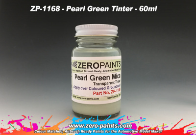 Pearl Green Mica Transparent Tinter - Zero Paints