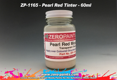 Pearl Red Mica Transparent Tinter - Zero Paints