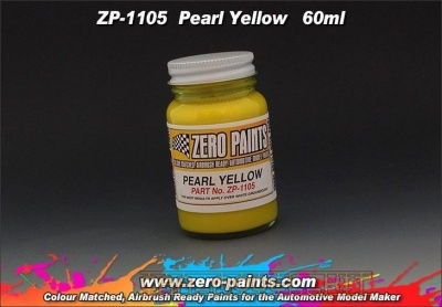 Pearl Yellow Paints (60ml) - Zero Paints