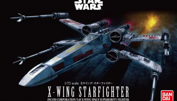 Plastic ModelKit BANDAI SW 01200 - X-Wing Starfighter (1:72)