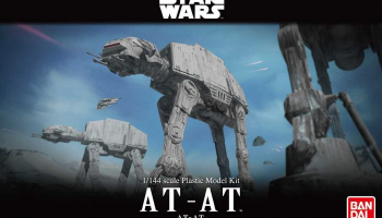 Plastic ModelKit BANDAI SW 01205 - AT-AT  (1:144)
