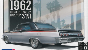 '62 Chevy Impala 3 in 1 (1:25) Plastic Model Kit MONOGRAM auto 4466 - Revell