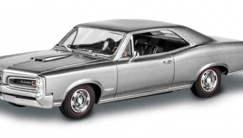 '66 Pontiac GTO (1:25) Plastic Model Kit MONOGRAM 4479 - Revell