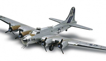 Plastic ModelKit MONOGRAM letadlo 5600 - B17-G Flying Fortress (1:48)