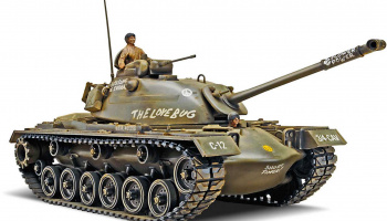 M-48 A2 Patton Tank (1:35) Plastic Model Kit MONOGRAM 7853 - Revell