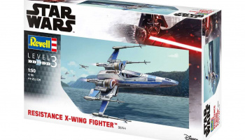 Resistance X-Wing Fighter (1:50) Plastic ModelKit SW 06744 - Revell