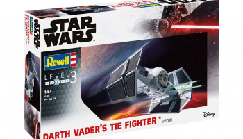 Plastic ModelKit SW 06780 - Darth Vader's TIE Fighter (1:57)