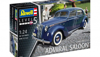Luxury Class Car Admiral Saloon (1:24) Plastic Model Kit 07042 - Revell