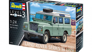 Land Rover Series III (1:24)Plastic ModelKit auto 07047 - Revell