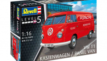 VW T1 Kastenwagen (1:16) Plastic Model Kit 07049 - Revell