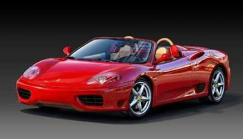 Ferrari 360 Spider (1:24) Plastic Model Kit 07085 - Revell