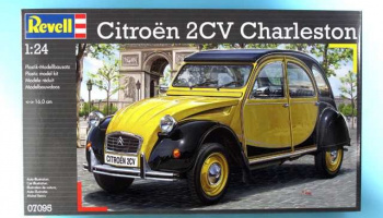 Citroën 2CV (1:24) Plastic Model Kit 07095 - Revell