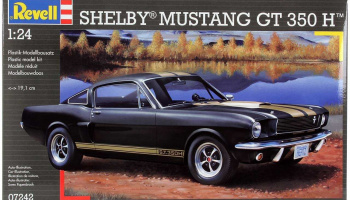 Shelby Mustang GT 350 H (1:24) Plastic Model Kit 07242 - Revell
