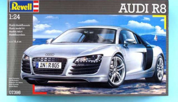 Audi R8 (1:24) Plastic Model Kit 07398 - Revell