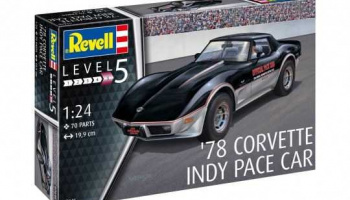 '78 Corvette Indy Pace Car (1:24) Plastic Model Kit 07646 - Revell