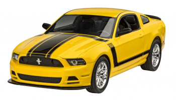2013 Ford Mustang Boss 302 (1:25) Plastic Model Kit 07652 - Revell