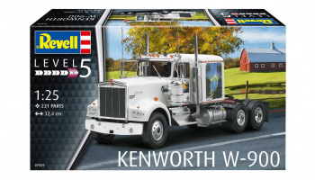 Kenworth W-900 (1:25) Plastic Model Kit Truck 07659 - Revell