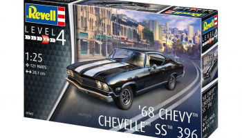 1968 Chevy Chevelle (1:25) Plastic Model Kit 07662 - Revell