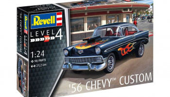 '56 Chevy Customs (1:24) Plastic ModelKit 07663 - Revell