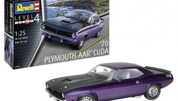'70 Plymouth AAR Cuda (1:25) Plastic Model Kit 07664 - Revell