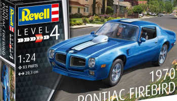 Pontiac Firebird 1970 (1:25) Plastic Model Kit auto 07672 - Revell