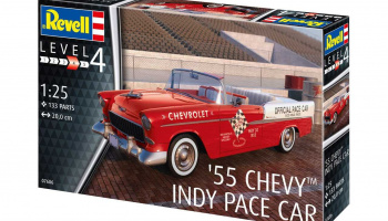 '55 Chevy Indy Pace Car (1:25) Plastic ModelKit 07686 - Revell