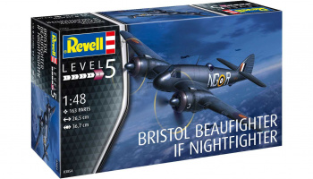 Beaufighter IF Nightfighter (1:48) Plastic Model Kit 03854 - Revell