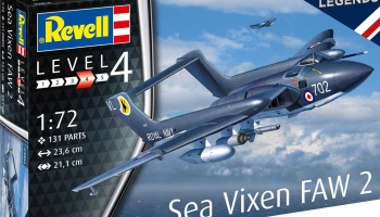 "Sea Vixen FAW 2 ""70th Anniversary"" (1:72) - Revell"