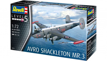 Avro Shackleton Mk.3 (1:72) Plastic Model Kit 03873 - Revell