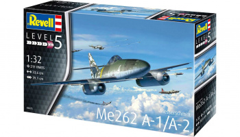 Me262 A-1 Jetfighter (1:32) Plastic Model Kit 03875 - Revell
