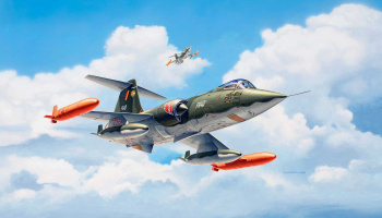 F-104 G Starfighter NL/B (1:72) Plastic Model Kit  03879 - Revell