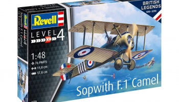 Sopwith Camel (1:48) 100 Years RAF - Revell
